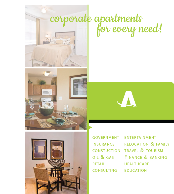 Luxury Furnished Corporate Apartments